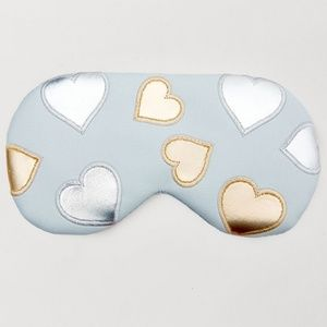 Understated Leather Eye Mask w/ Cooling Pack